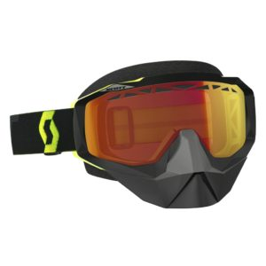 Goggle Hustle Snow Cross black/fluo yellow/illuminator red chrome
