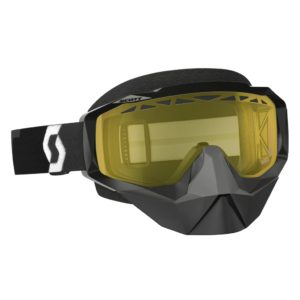 Goggle Hustle Snow Cross black/yellow